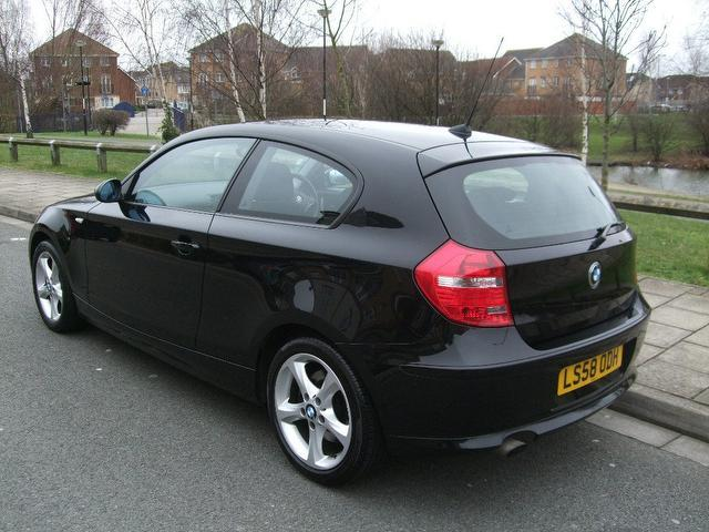 bmw 1 series 118d 2008 technical specifications interior and exterior photo. Black Bedroom Furniture Sets. Home Design Ideas