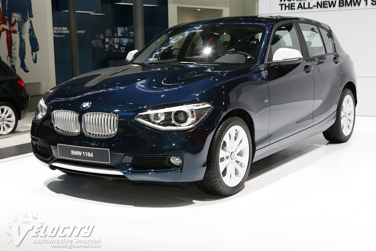 BMW 1 series 118d 2012 photo - 1