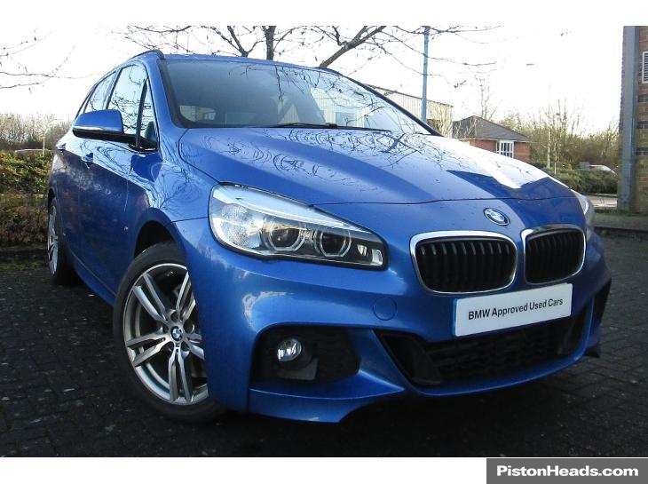 BMW 2 series Active Tourer 220d 2014 photo - 2