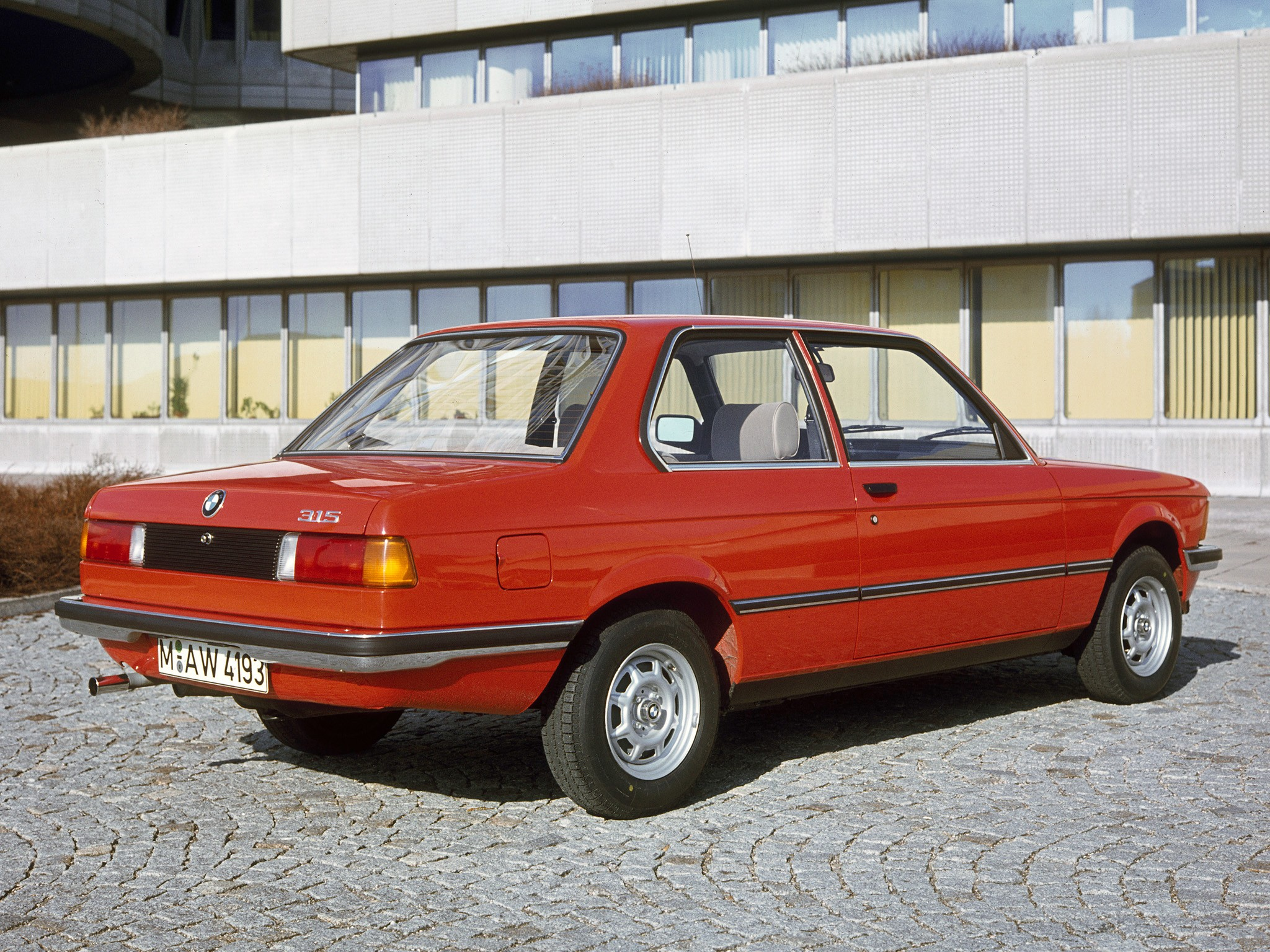 BMW 3 series 316 1979 photo - 11