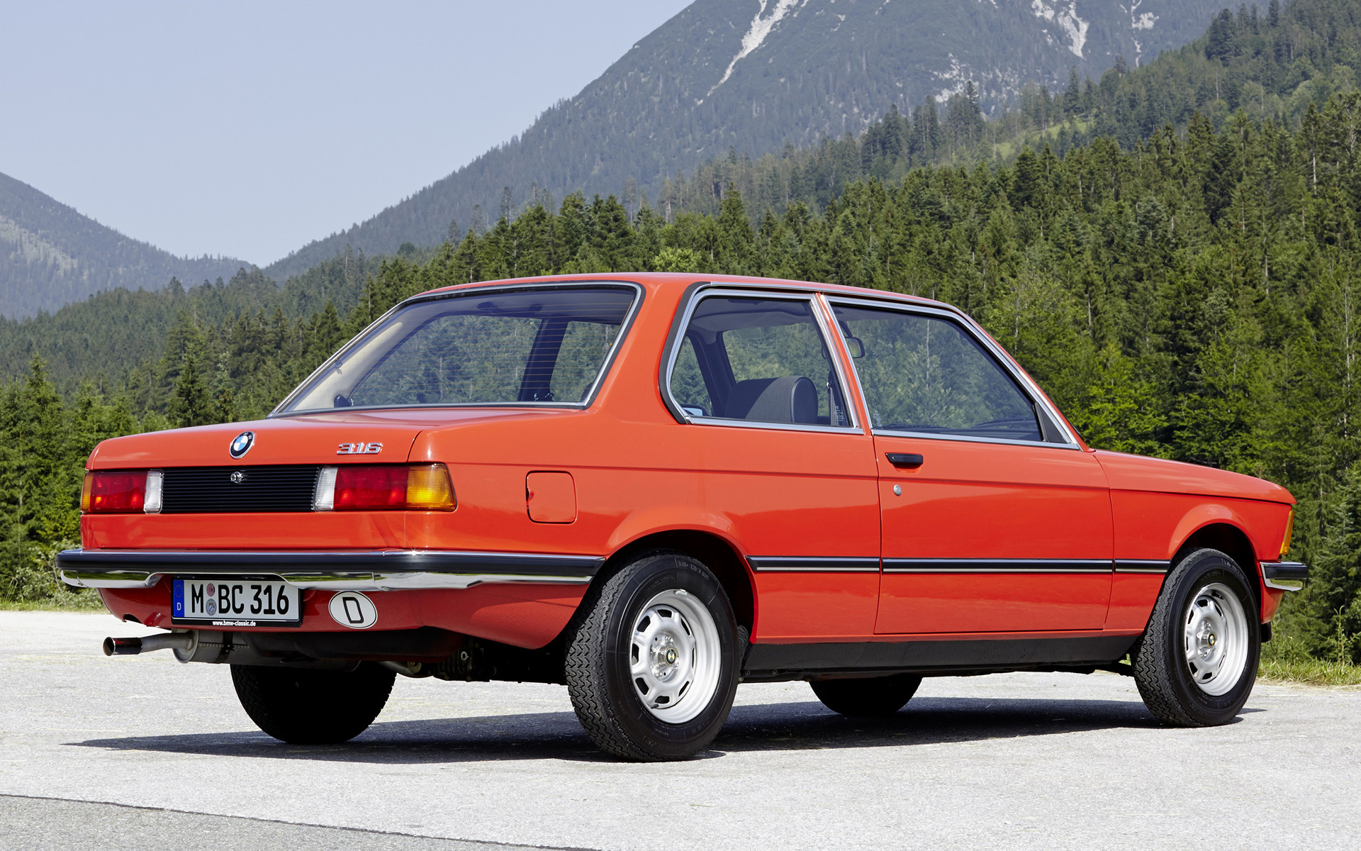 BMW 3 series 316 1979 photo - 4