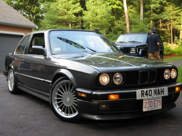 BMW 3 series 316 1985 photo - 7
