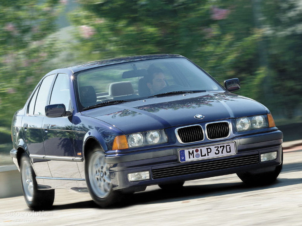 BMW 3 series 316 1992 photo - 12
