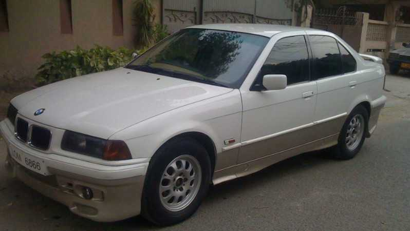 BMW 3 series 316i 1992 photo - 7