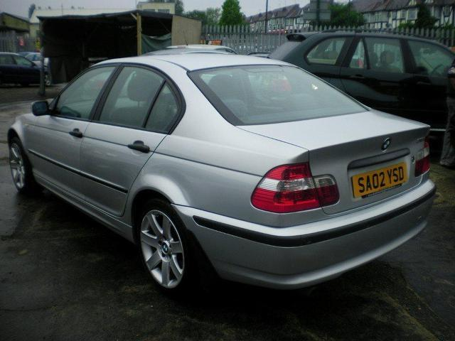 BMW 3 series 316i 2002 photo - 9