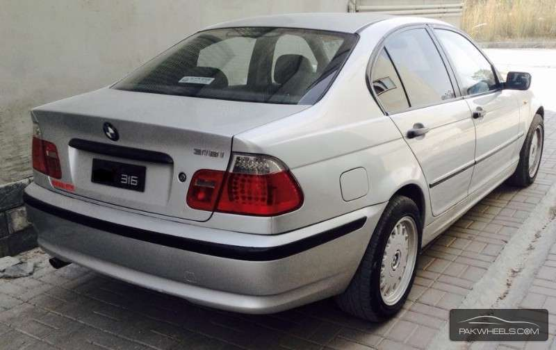 BMW 3 series 316i 2003 photo - 2