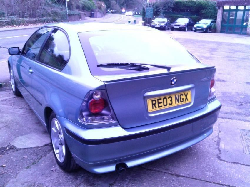 BMW 3 series 316i 2003 photo - 6
