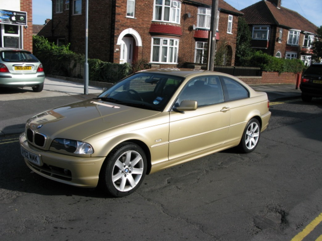BMW 3 series 318Ci 2002 photo - 3