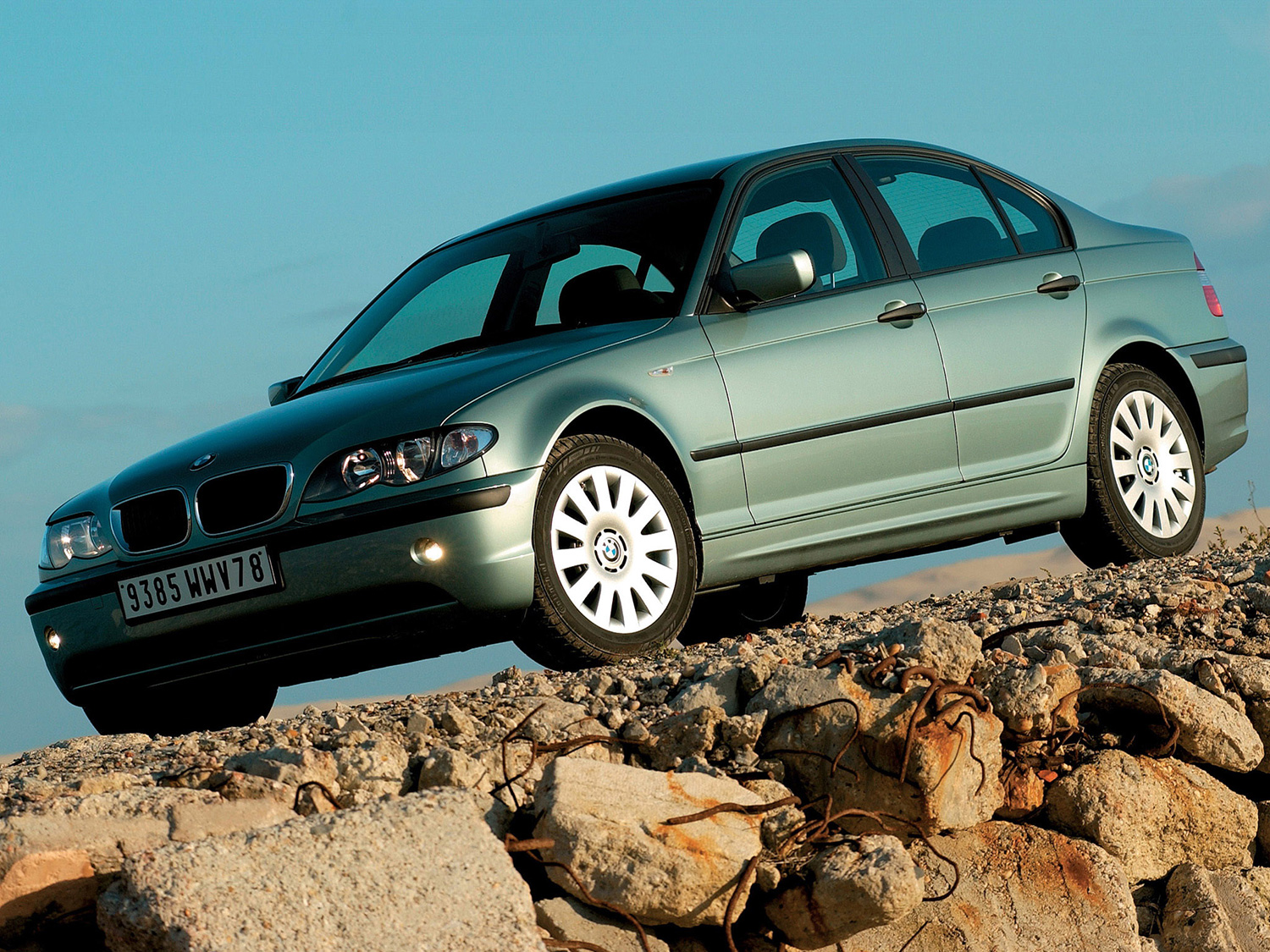 BMW 3 series 318d 2001 photo - 9