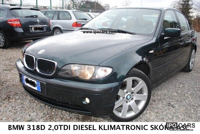 BMW 3 series 318d 2002 photo - 11