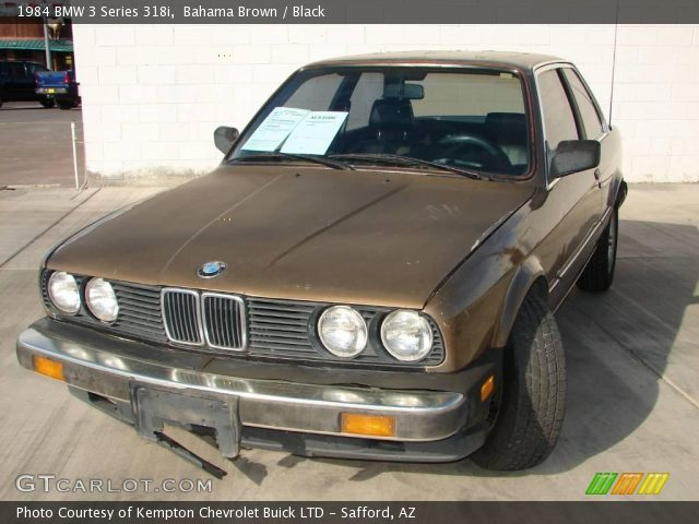 BMW 3 series 318i 1984 photo - 3