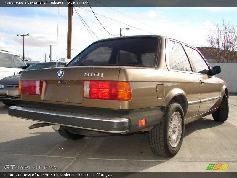 BMW 3 series 318i 1984 photo - 5