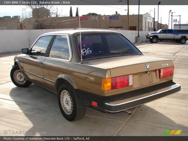 BMW 3 series 318i 1984 photo - 6