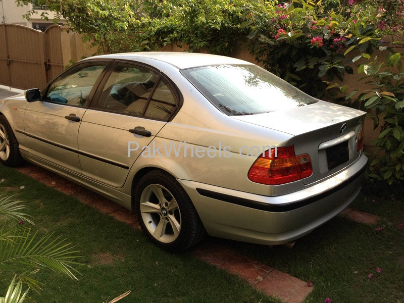 BMW 3 series 318i 2002 photo - 7
