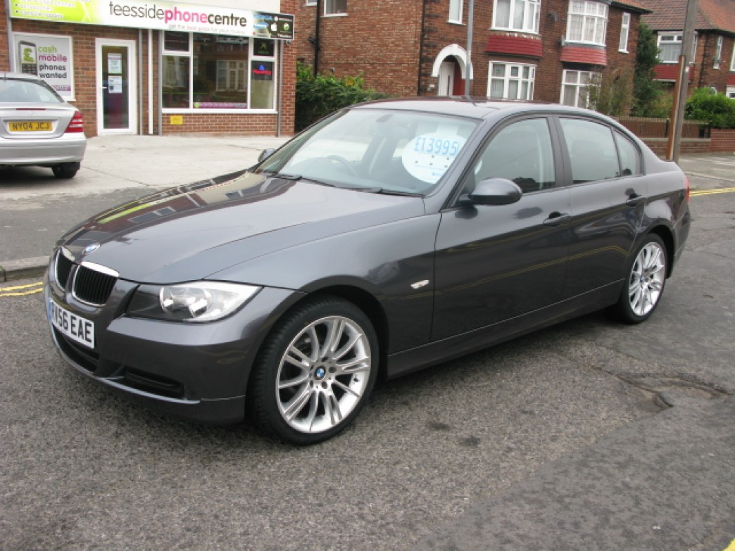 bmw 3 series 318i 2006 technical specifications interior and exterior photo. Black Bedroom Furniture Sets. Home Design Ideas