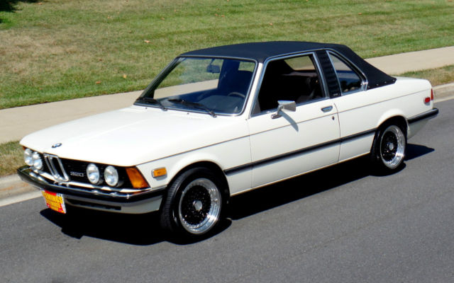 BMW 3 series 320i 1979 photo - 3