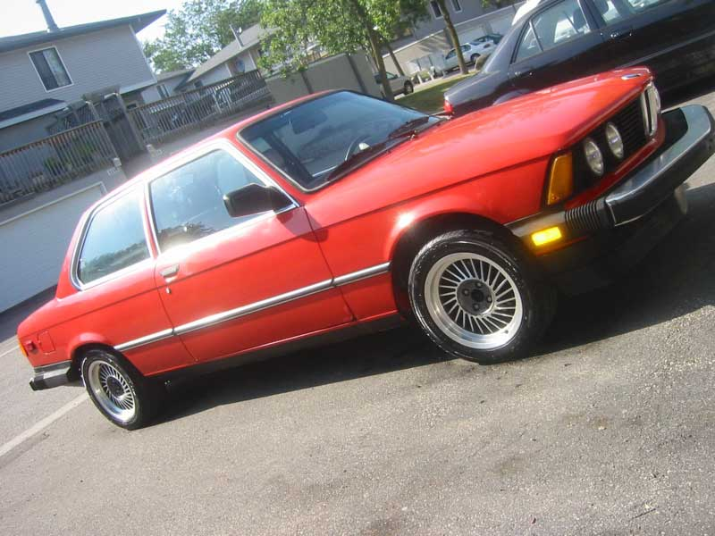 BMW 3 series 320i 1983 photo - 9