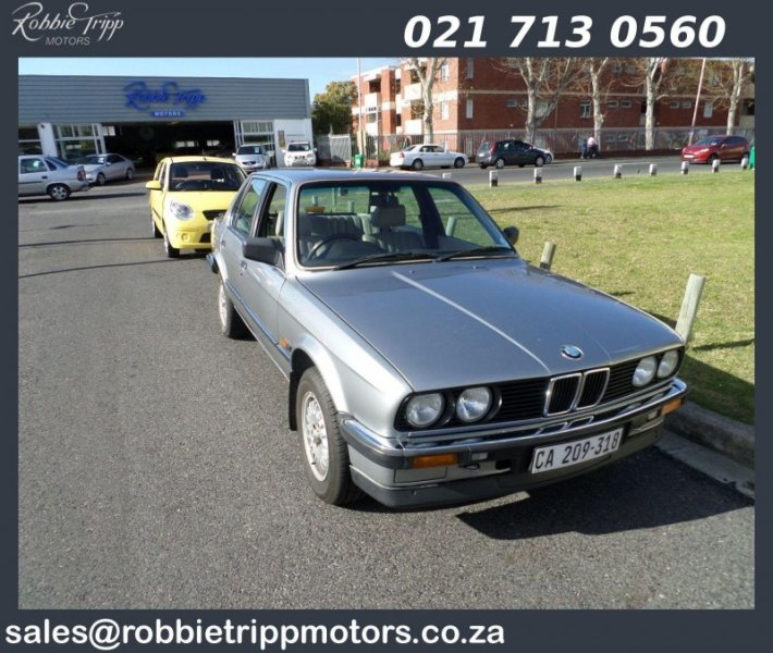 BMW 3 series 320i 1987 photo - 10