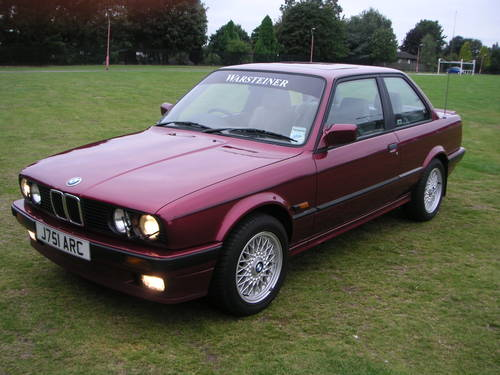 BMW 3 series 320is 1991 photo - 6