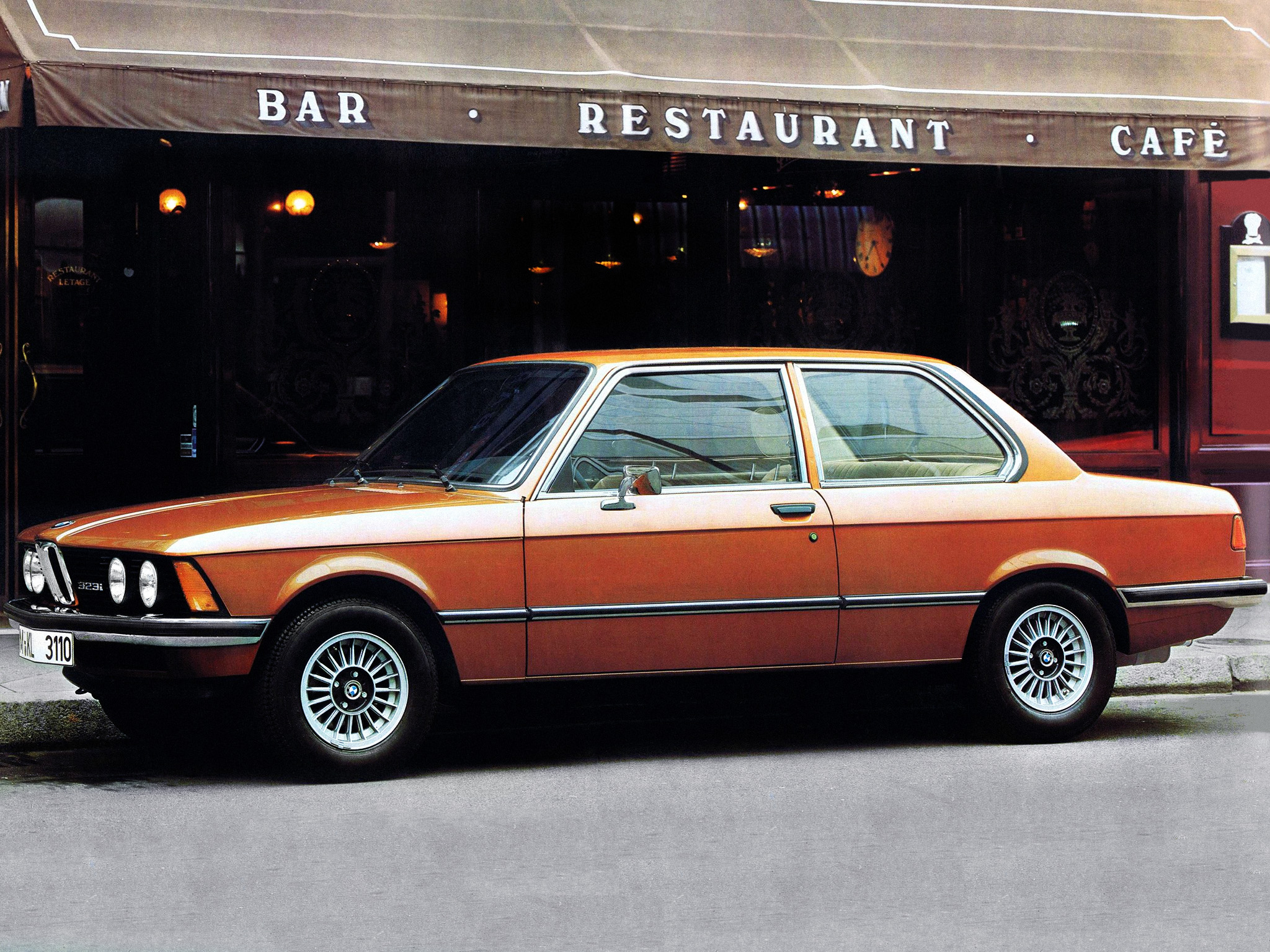 BMW 3 series 323i 1978 photo - 2