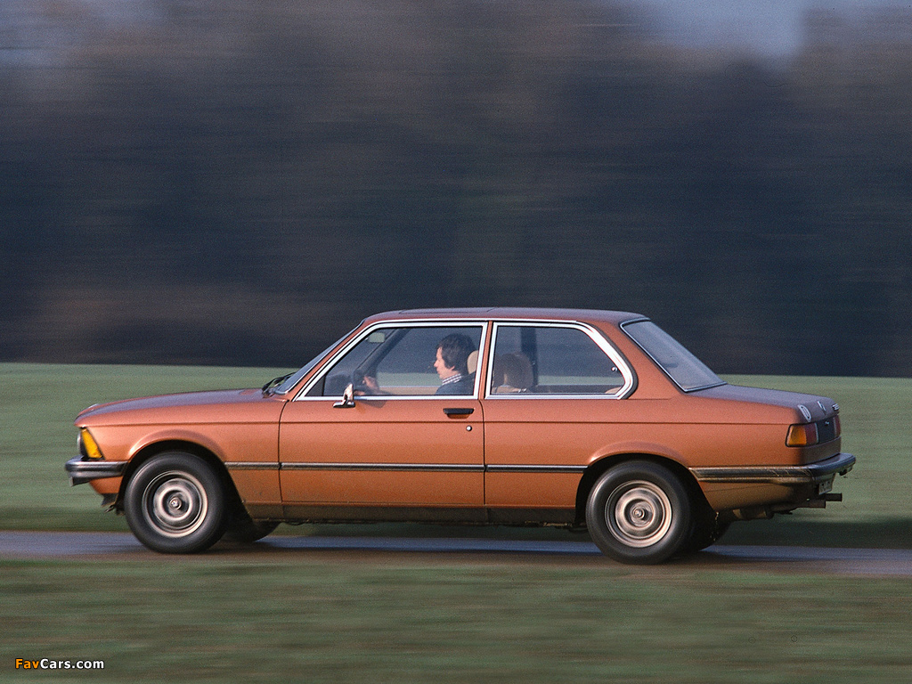 BMW 3 series 323i 1978 photo - 8