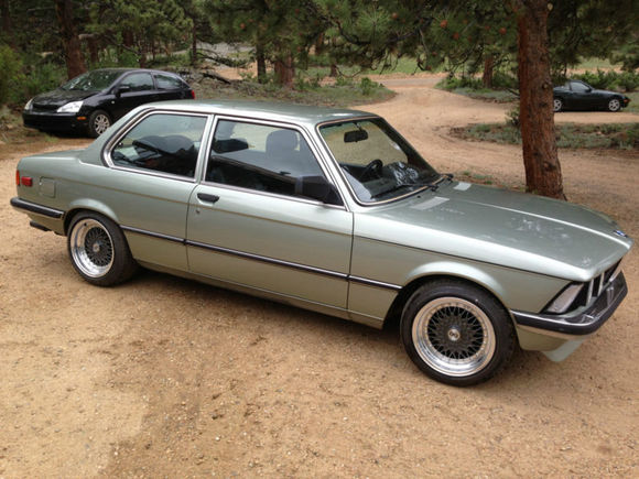 BMW 3 series 323i 1982 photo - 5