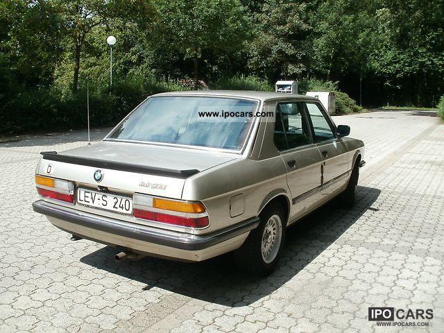 BMW 3 series 323i 1984 photo - 6