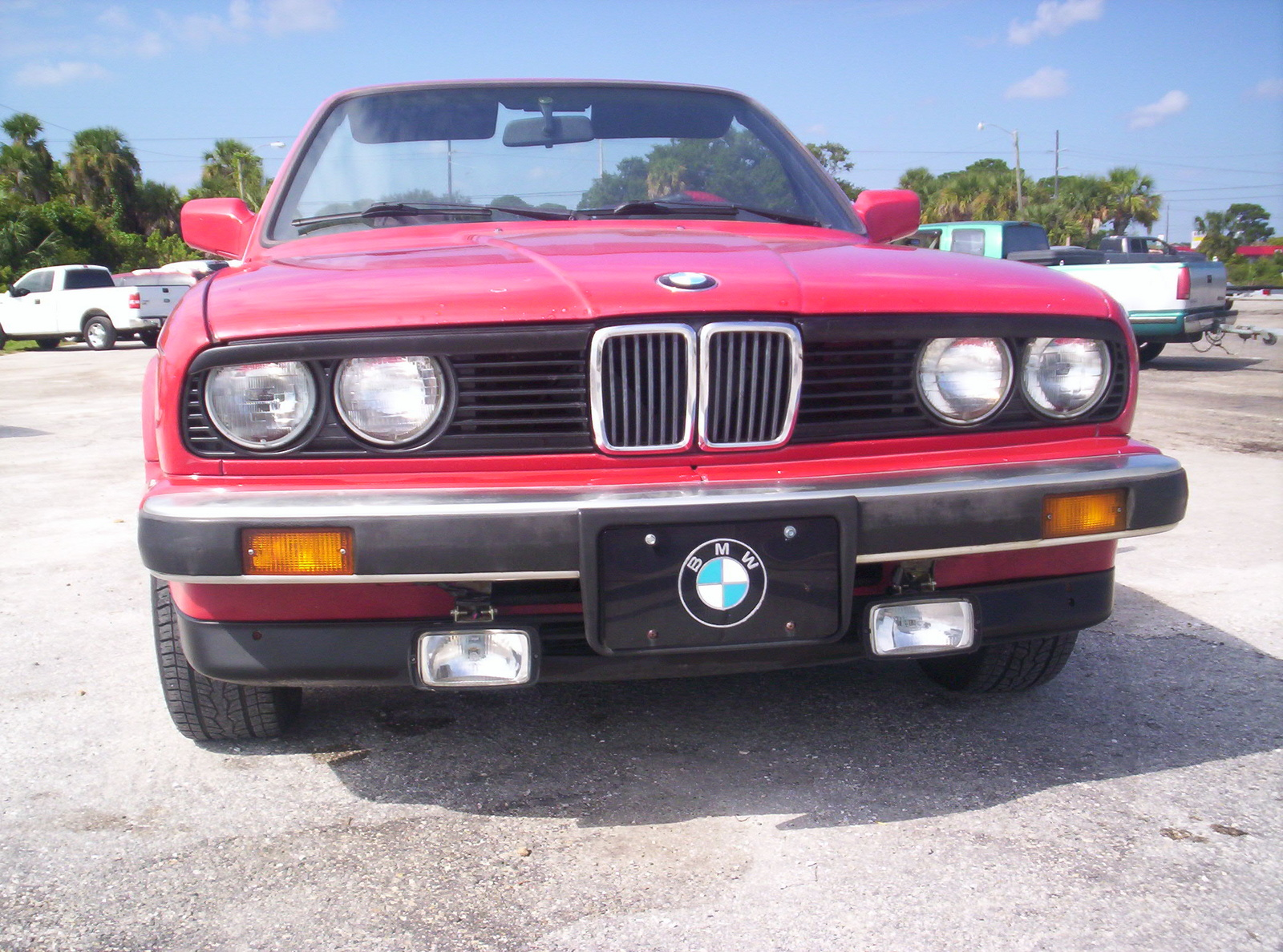 BMW 3 series 323i 1987 photo - 4