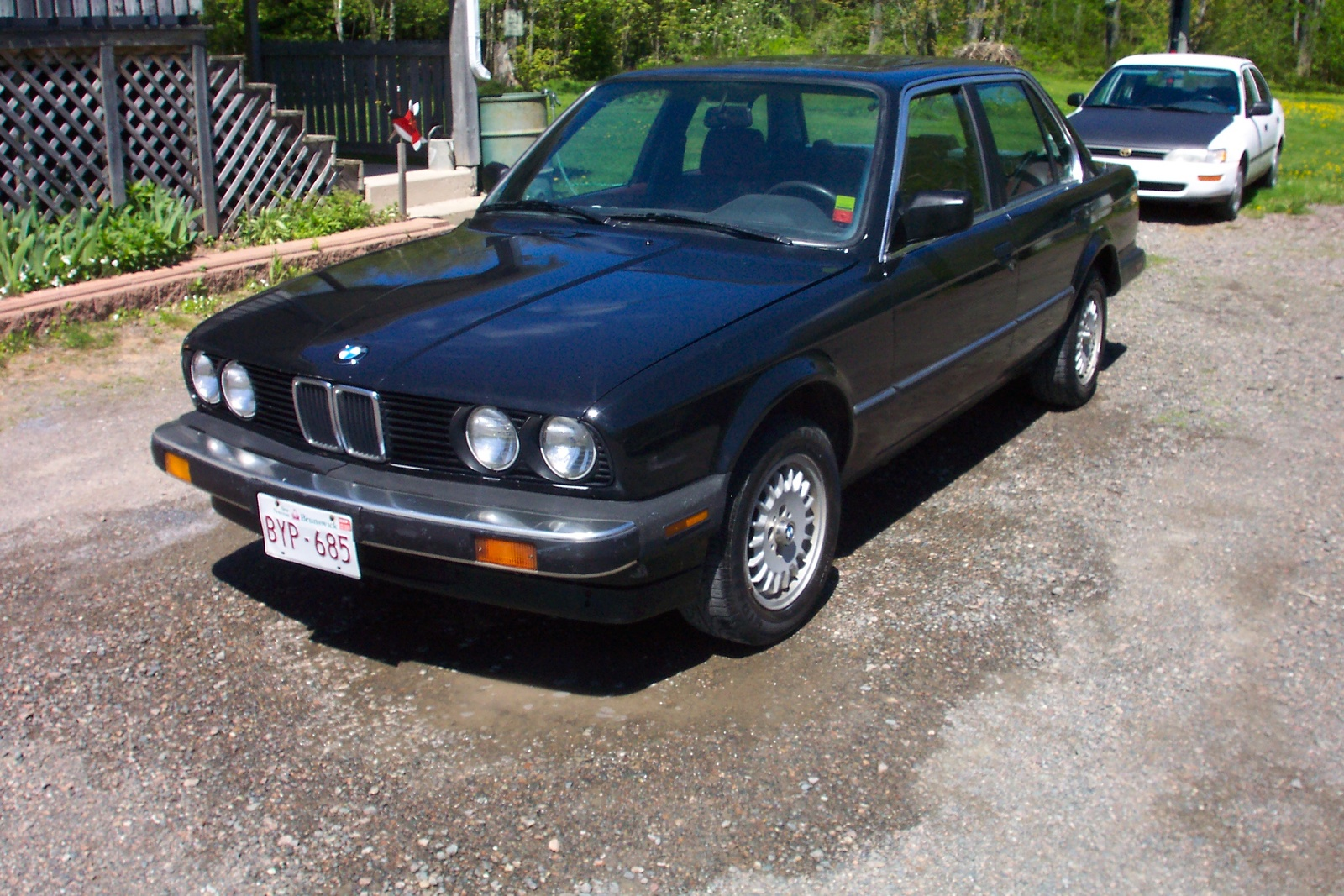 BMW 3 series 324d 1987 photo - 9