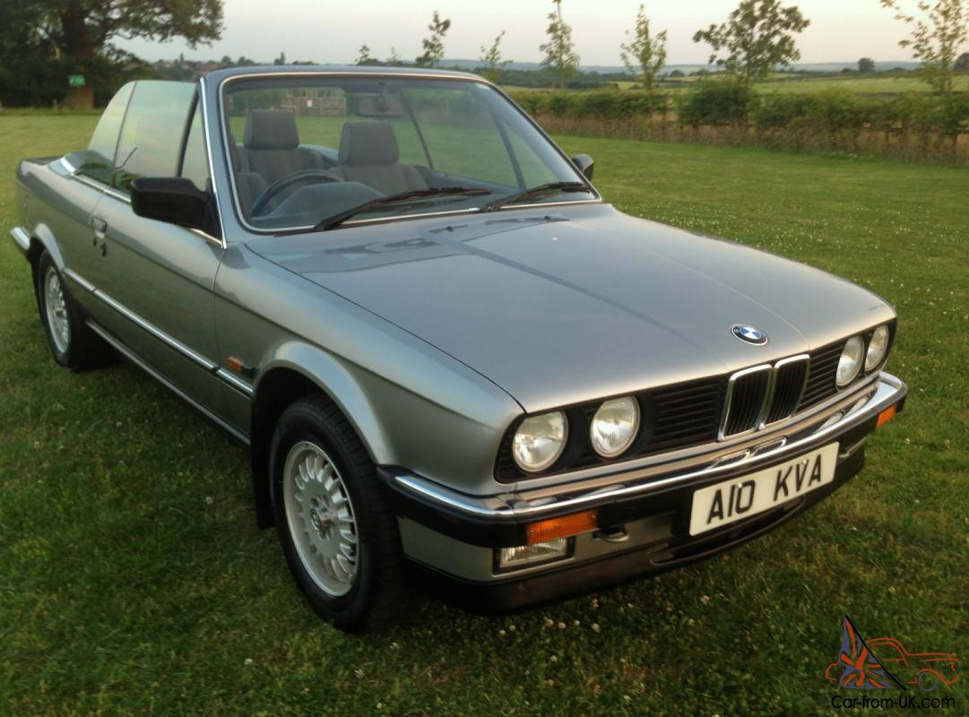 BMW 3 series 325 1987 photo - 12
