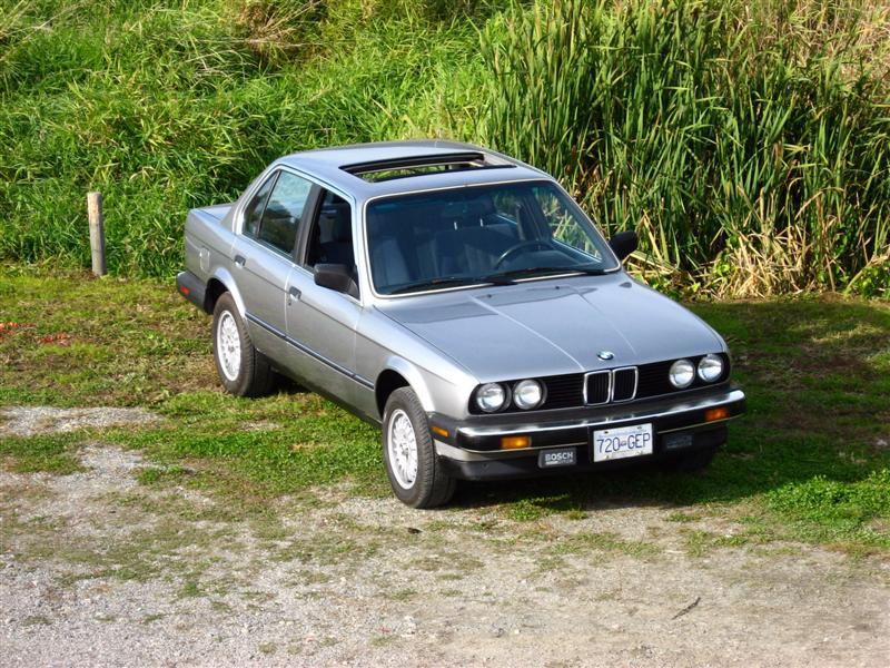 BMW 3 series 325e 1987 photo - 11