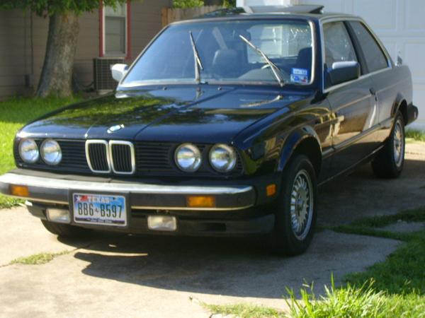 BMW 3 series 325i 1984 photo - 4