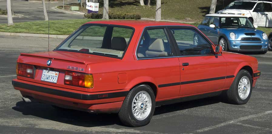 BMW 3 series 325is 1990 photo - 6