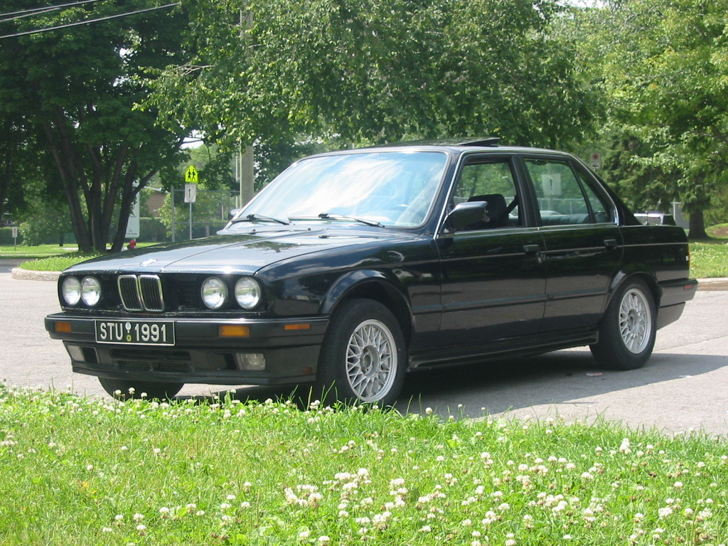 BMW 3 series 325td 1990 photo - 1