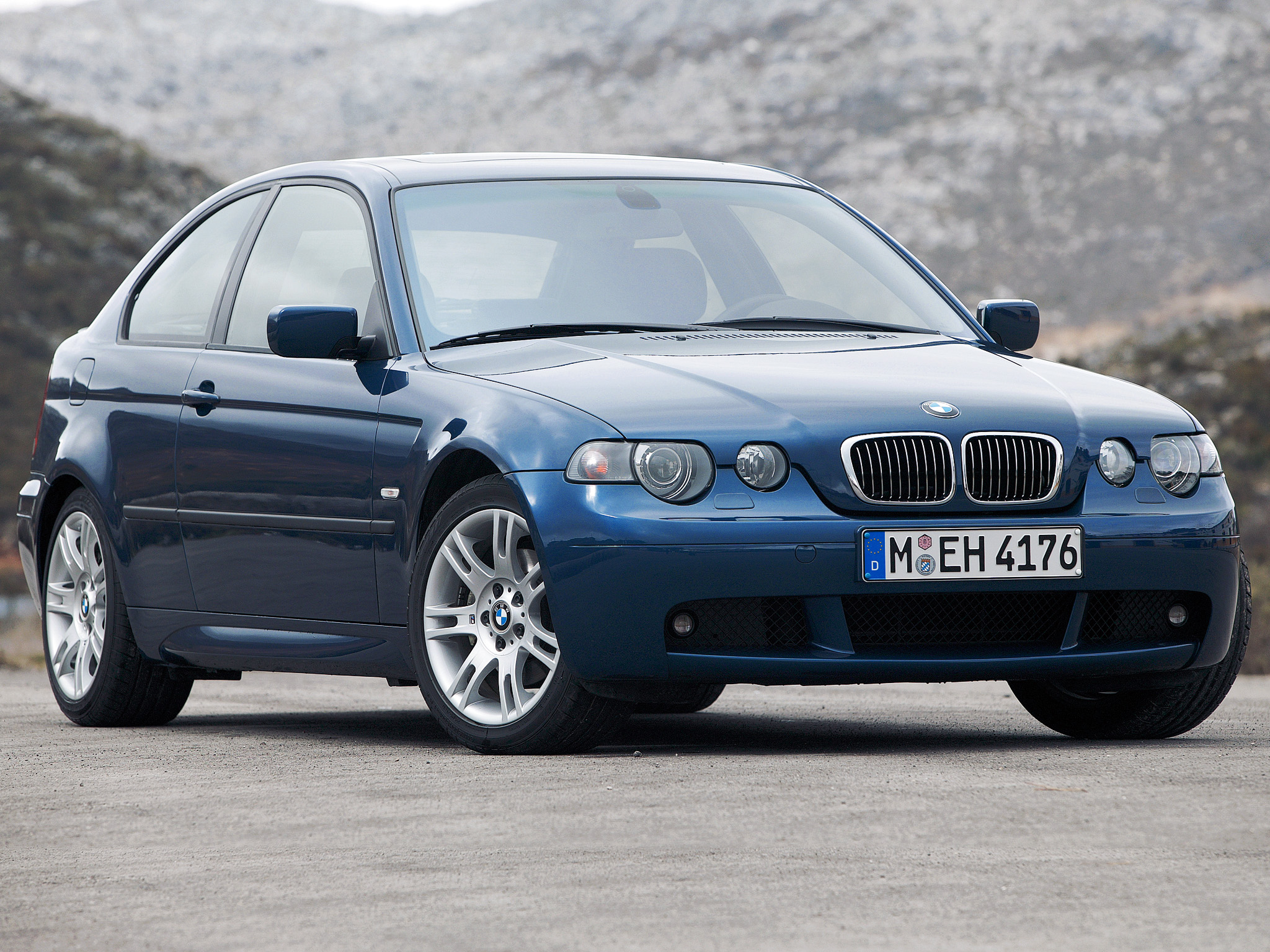 BMW 3 series 325ti 2001 photo - 9