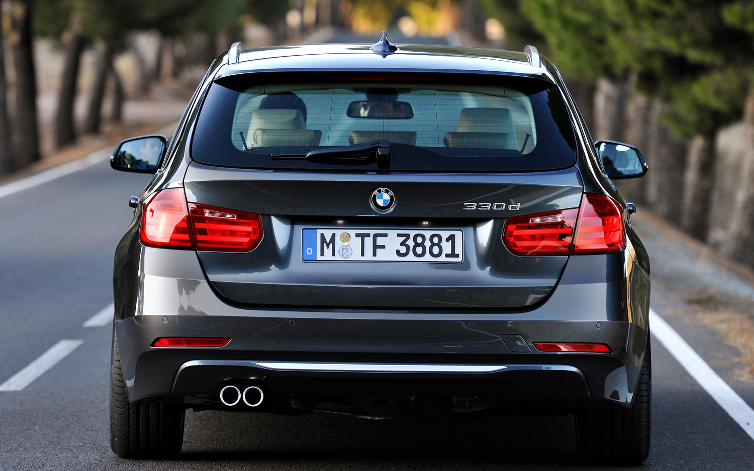 BMW 3 series 330d 2013 photo - 9