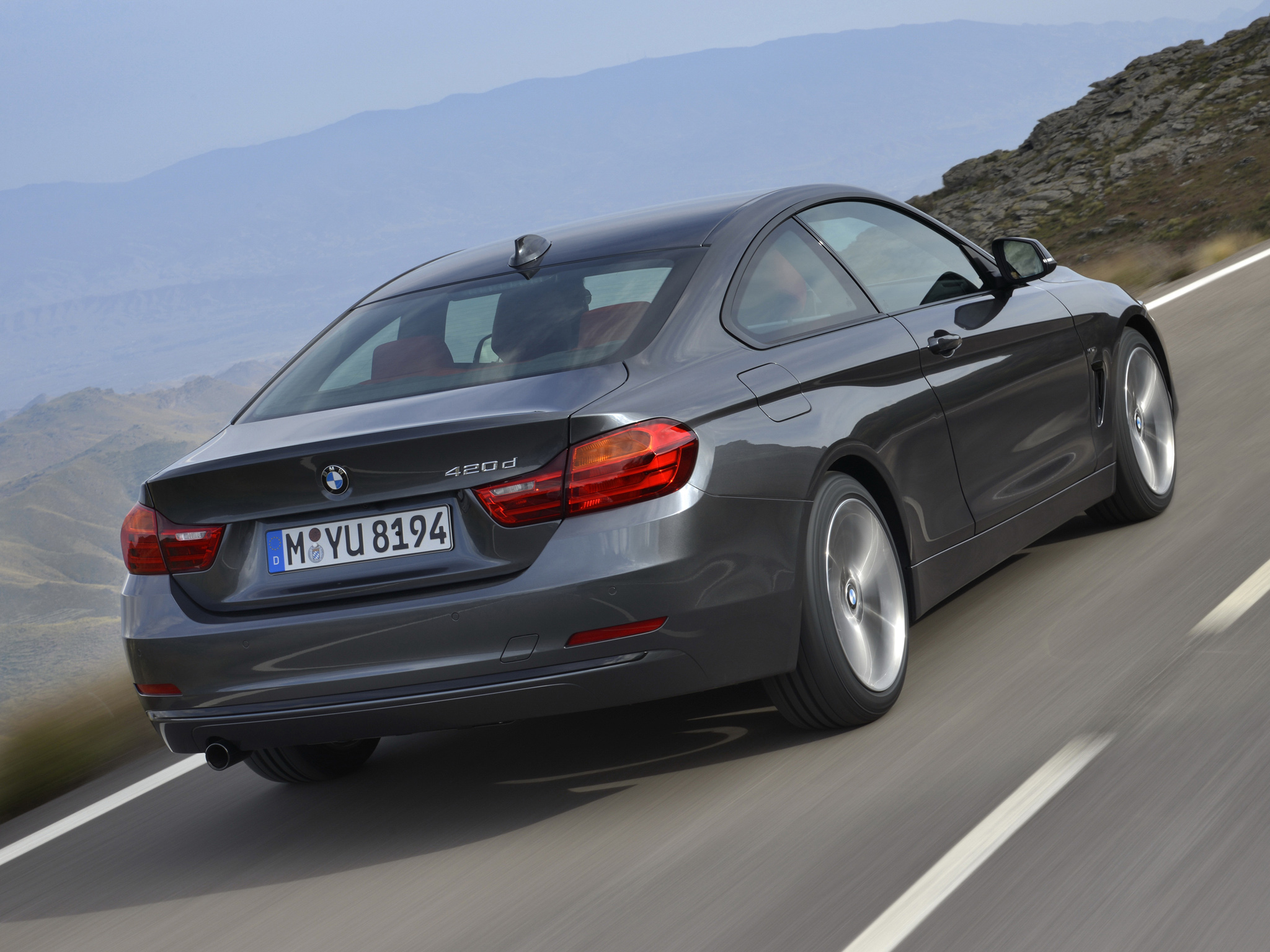 BMW 4 series 420d 2013 photo - 5