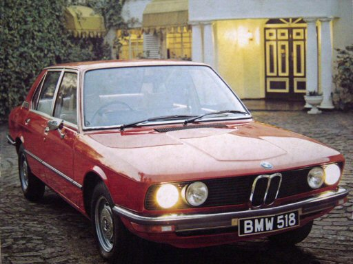 BMW 5 series 518 1975 photo - 2