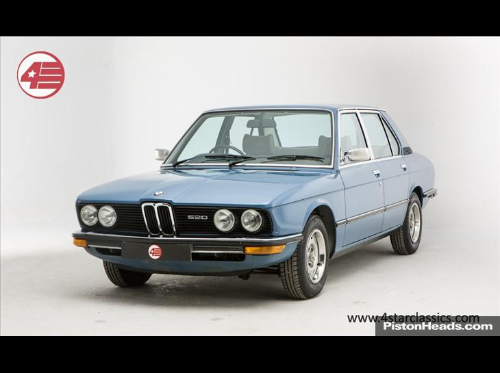 BMW 5 series 520 1979 photo - 4