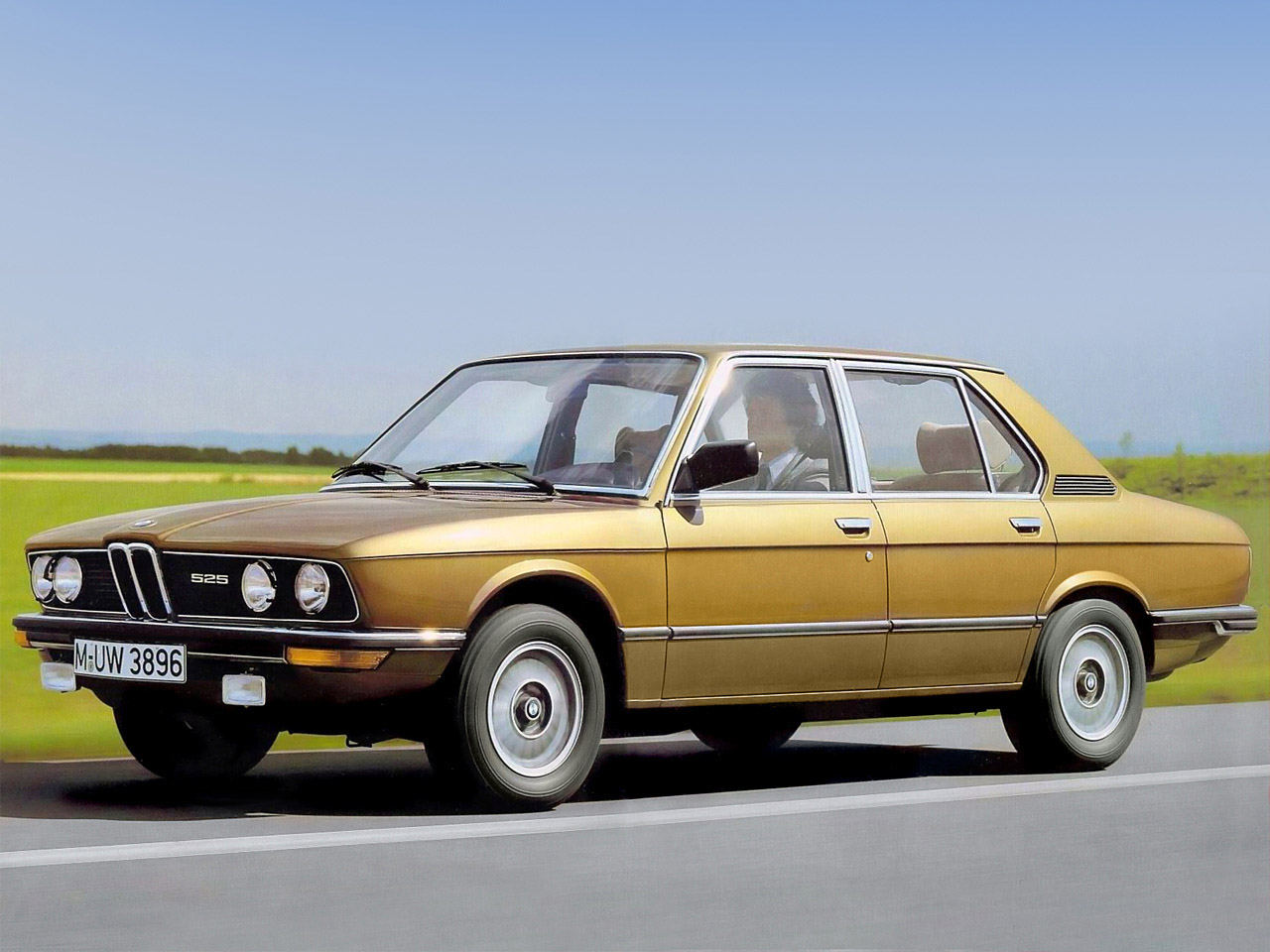BMW 5 series 520i 1976 photo - 6