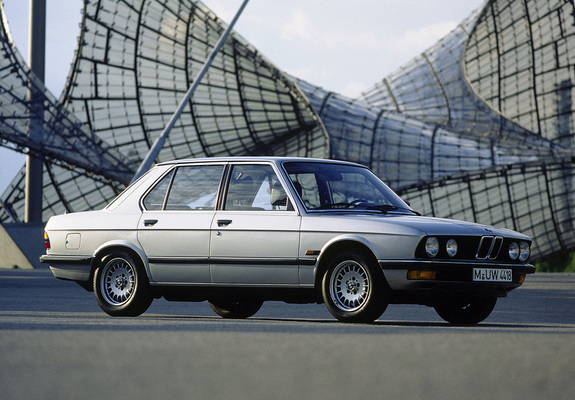 BMW 5 series 520i 1981 photo - 11