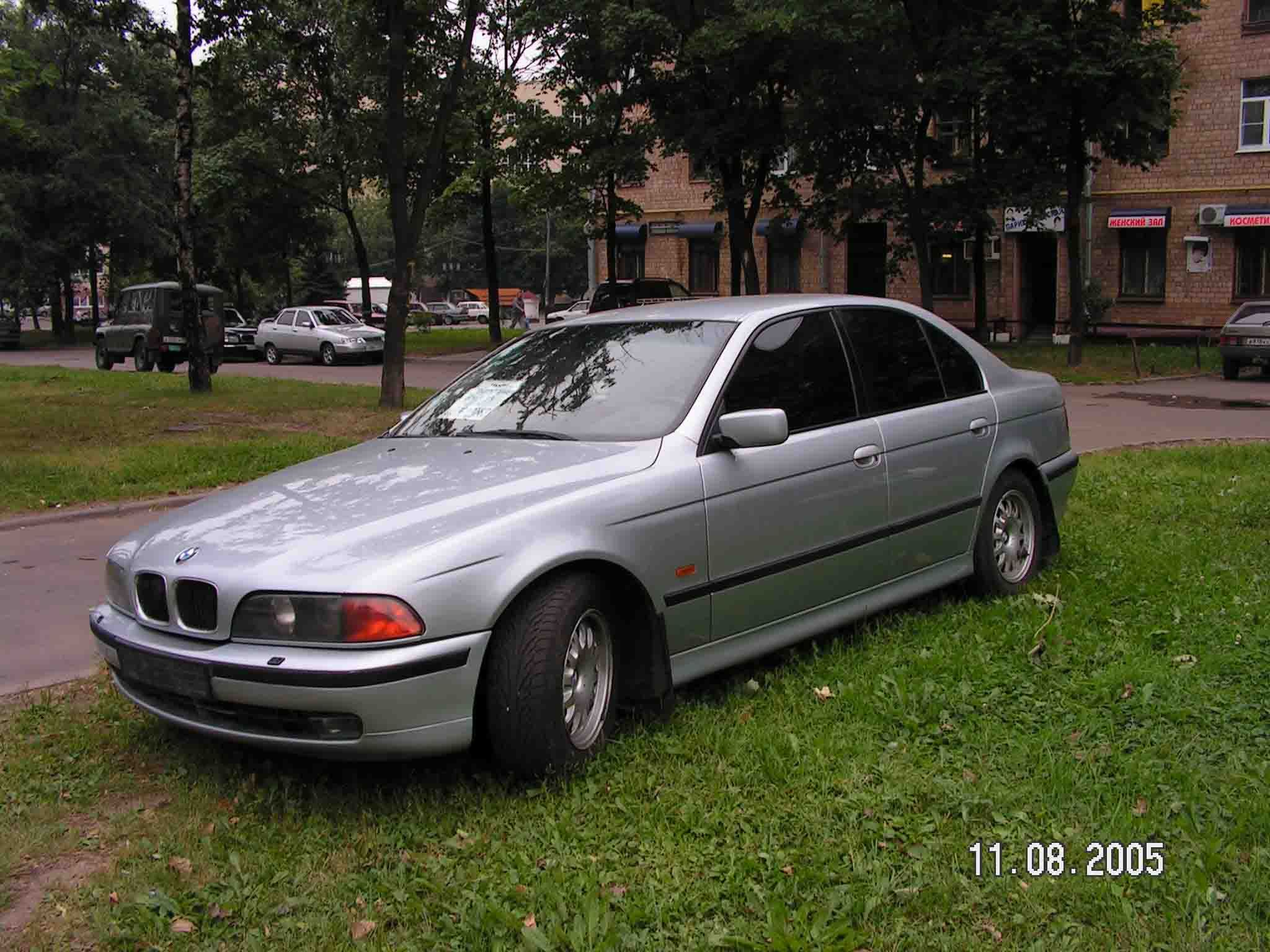 BMW 5 series 523i 1997 photo - 7