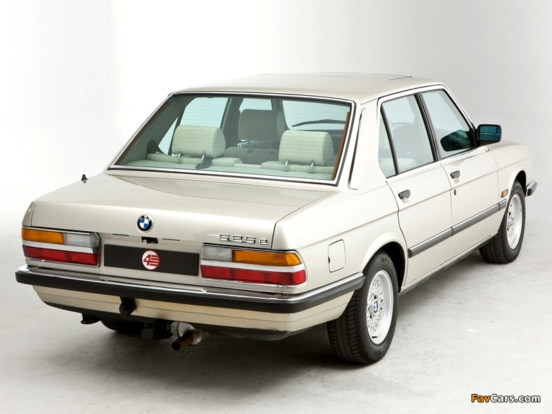 BMW 5 series 525e 1983 photo - 6
