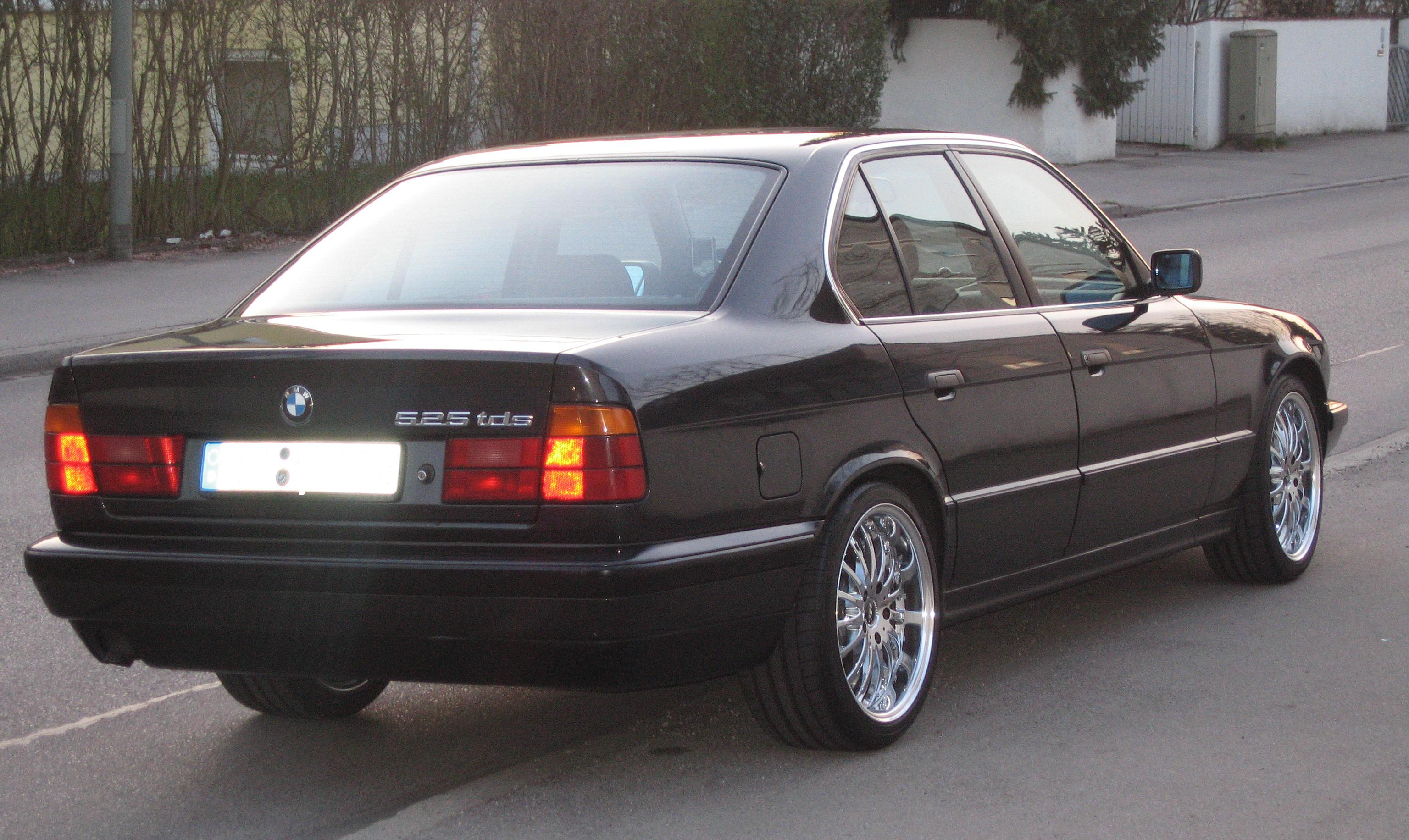 BMW 5 series 525td 1992 photo - 2