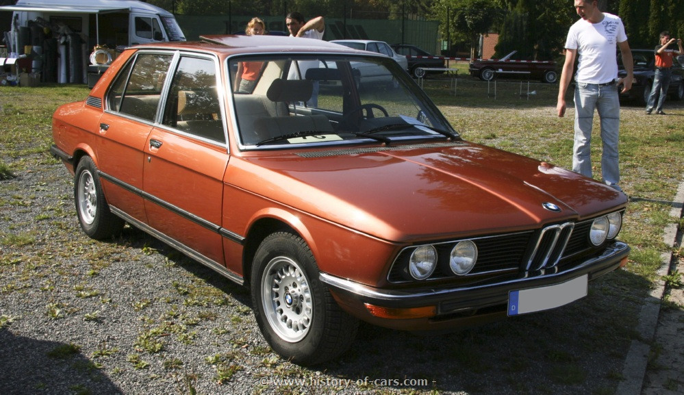 BMW 5 series 528 1976 photo - 8
