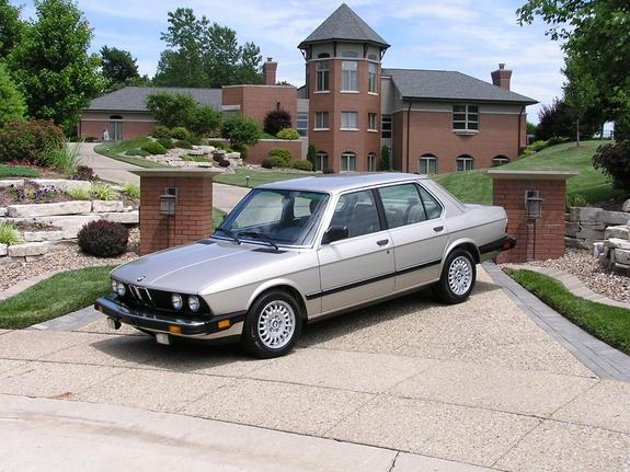 BMW 5 series 528e 1988 photo - 11