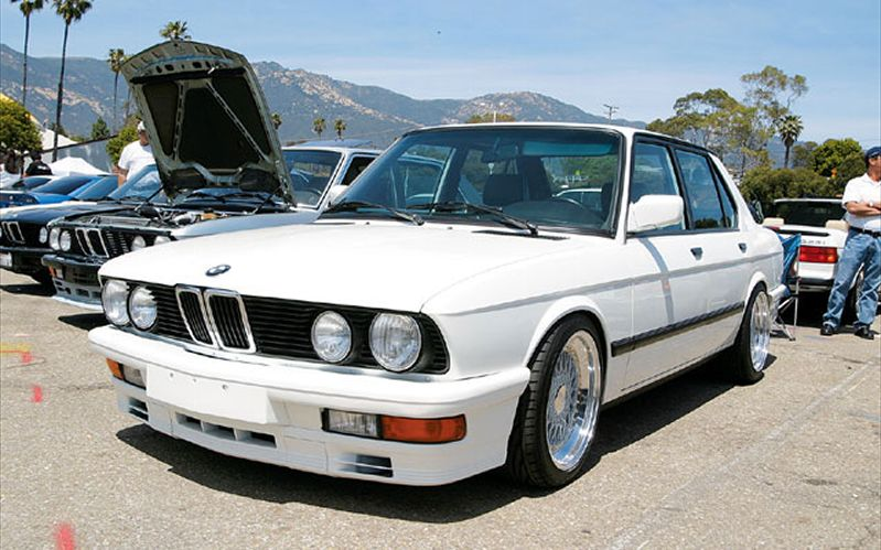 BMW 5 series 528e 1988 photo - 6