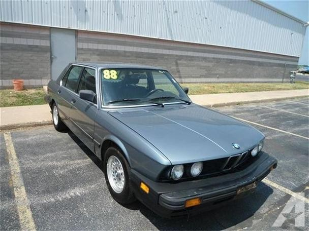 BMW 5 series 528e 1988 photo - 9