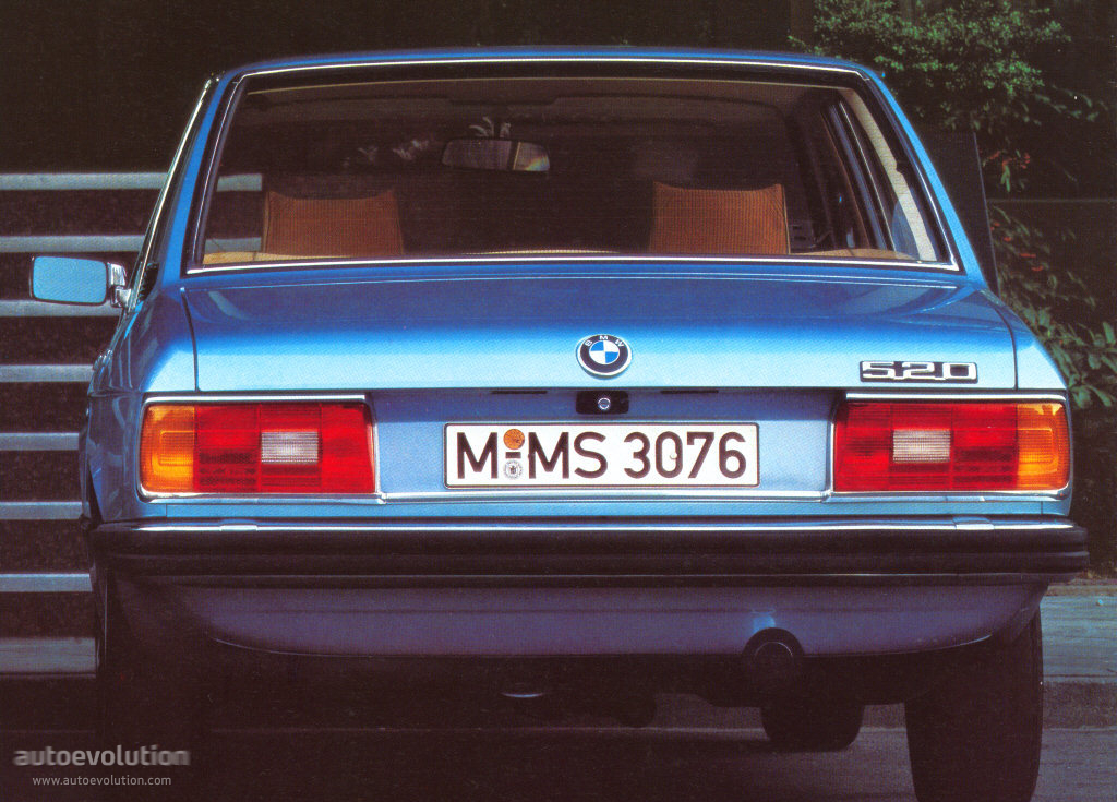 BMW 5 series 528i 1984 photo - 3