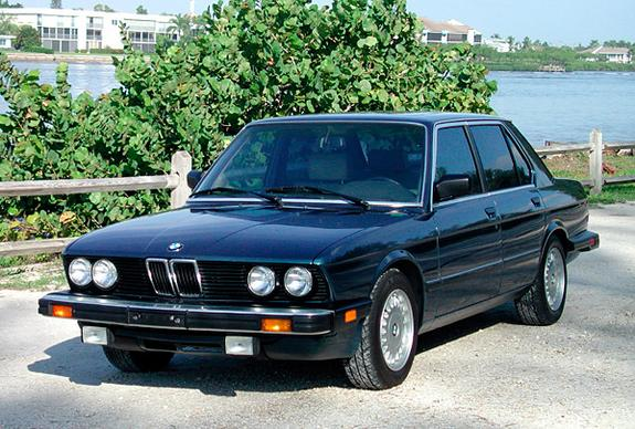 BMW 5 series 528i 1986 photo - 1